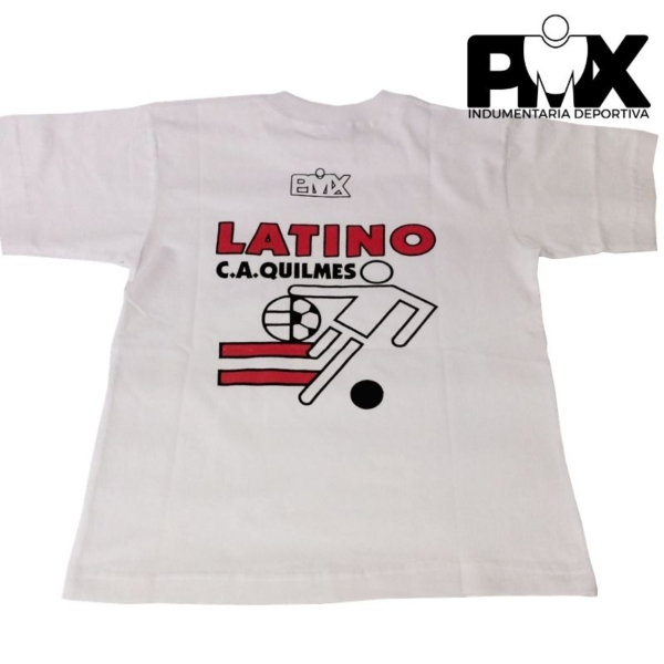 Remera algodón Quilmes Latino