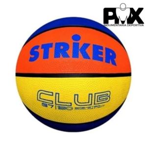 Pelota basquet Striker Basquet Nº 7 Tricolor